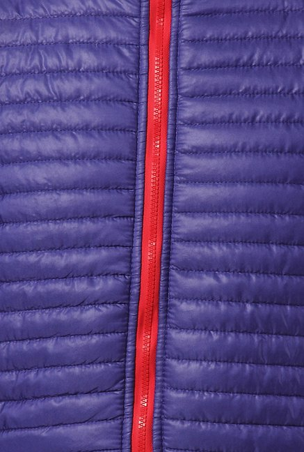 Yepme Blue Altor Quilted Jacket