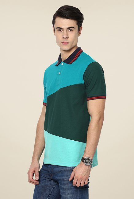 Yepme Multicolor Chris Premium Solid Polo T Shirt