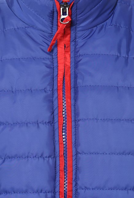 Yepme Blue Julius Quilted Jacket