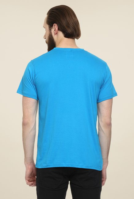 Yepme Blue Reeves Party T Shirt