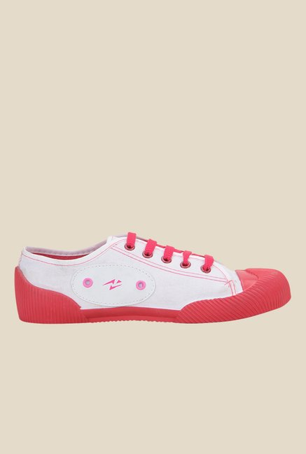 Yepme Pink & White Sneakers