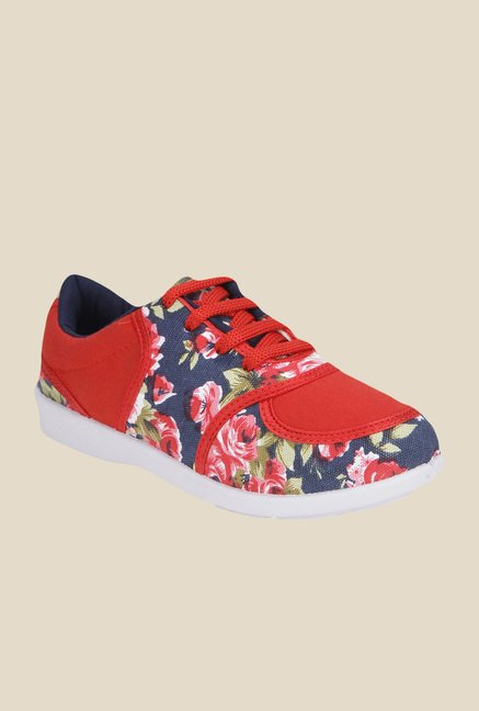 Yepme Red & Navy Sneakers