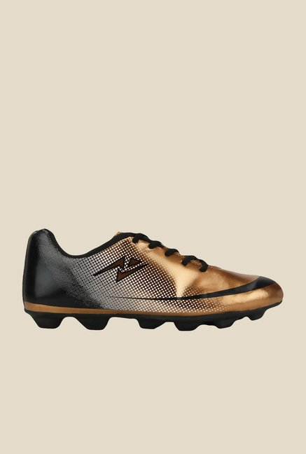 Yepme Golden & Black Football Shoes