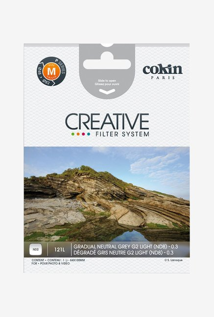 Cokin P-Series P121L Graduated Neutral Density 0.3 Filter