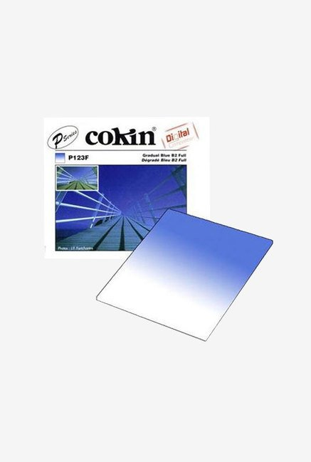 Cokin P-Series P123F Graduated Blue 0.7 to 0.4 Filter