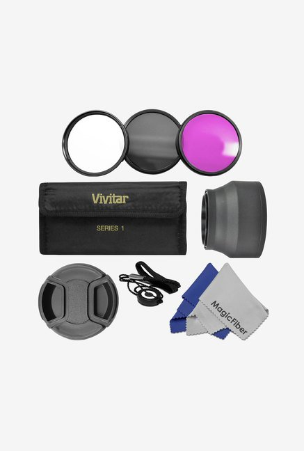 Goja 49 mm Essential Lens Filter Accessory Kit (Black)