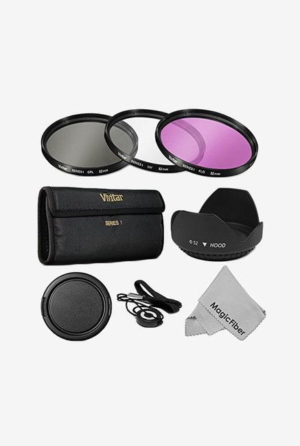 Goja 52 mm Professional Lens Filter Accessory Kit (Black)