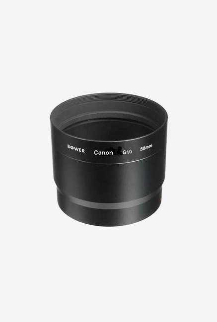Bower 58 mm Two Piece Lens Adapter For Canon (Black)