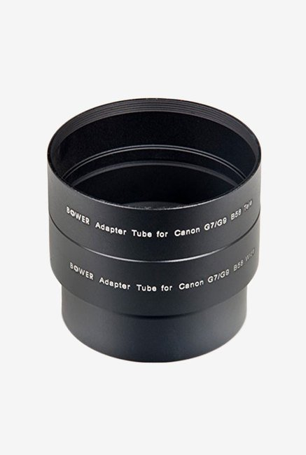 Bower A52G7C Canon G7/G9 58 Mm Adapter Tube (Black)