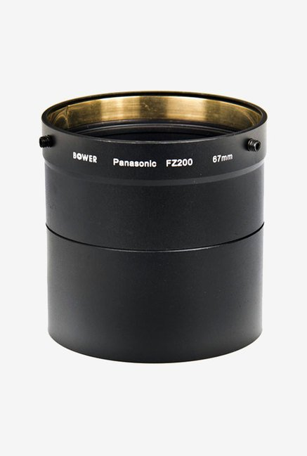 Bower Afzp200 Panasonic Fz200 67 mm Adapter Tube (Black)