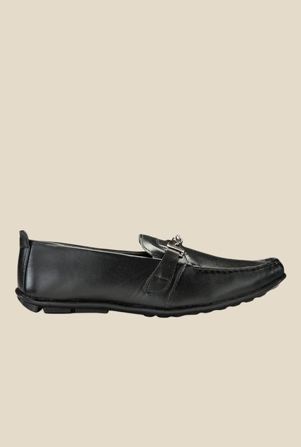 Yepme Black Casual Moccasins