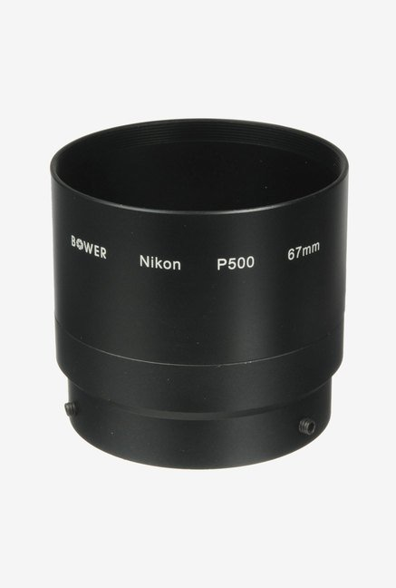 Bower Anp50067 Adapter Tube for Nikon P500 (Black)