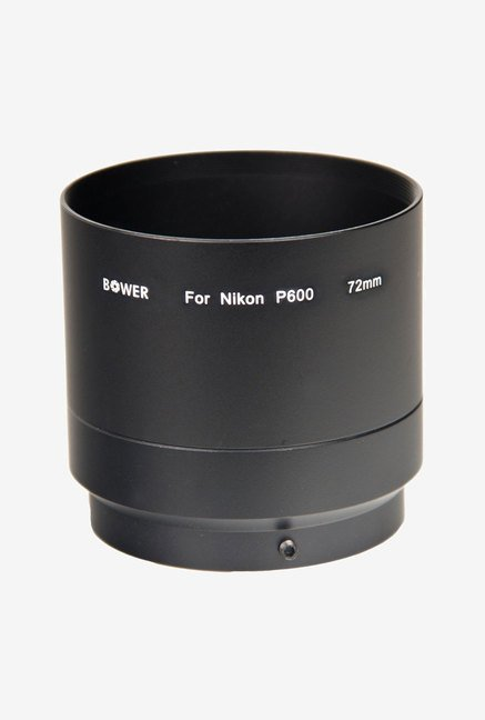 Bower ANP60072 Adapter Tube for Nikon P600 Camera (Black)