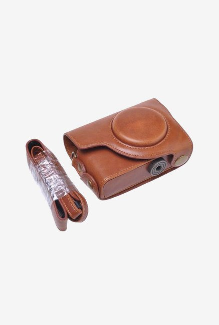Neewer Camera Case for Canon PowerShot S90 (Brown)