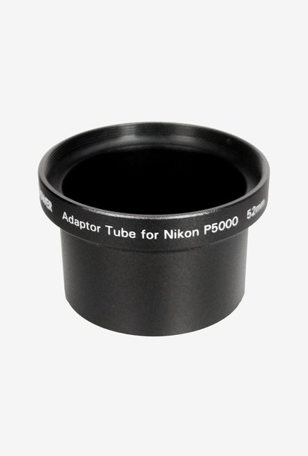 Bower AU4352N Adapter Tube for Nikon P5000/P5100 (Black)