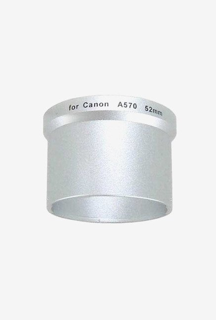 Bower A52B57C Adapter tube for Canon A570/A580/A590 (Silver)
