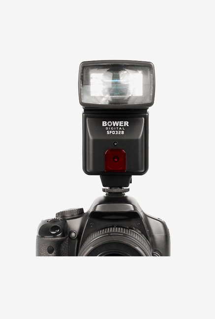 Bower SFD328 Digital Slave Flash Bracket and Cable (Black)