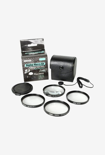 Bower FCC58C6 6-Piece Digital Macro Filter Kit (Black)