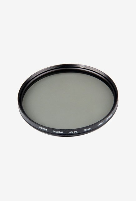 Bower FPC86 Digital High-Definition Polarizer Filter (Black)