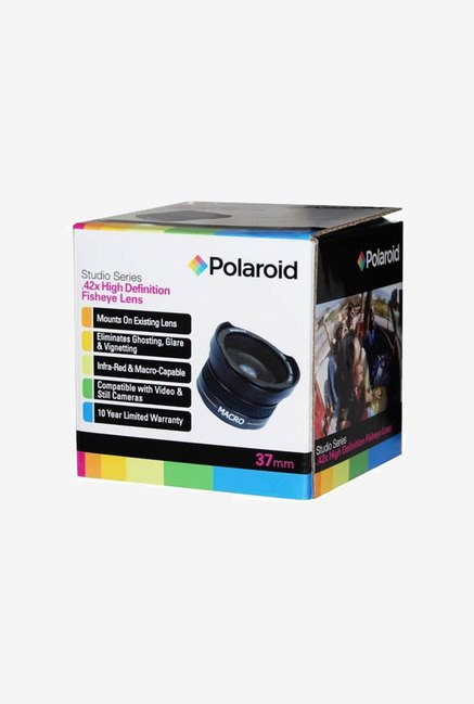 Polaroid Studio Series 37mm 0.42X HD Fisheye Lens