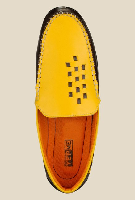 Yepme Yellow & Brown Loafers