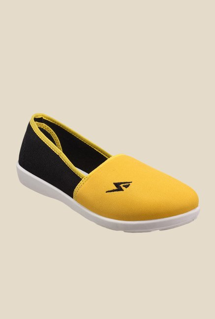 Yepme Yellow & Black Plimsolls