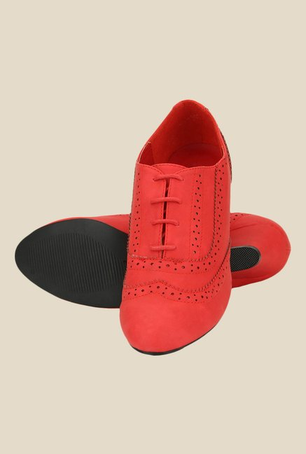 Yepme Red Casual Booties