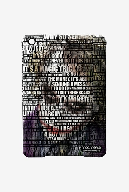 Macmerise Joker Quotes Pro case for iPad Mini 4