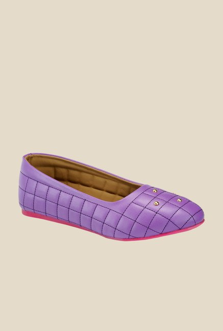 Yepme Purple & Pink Flat Ballets