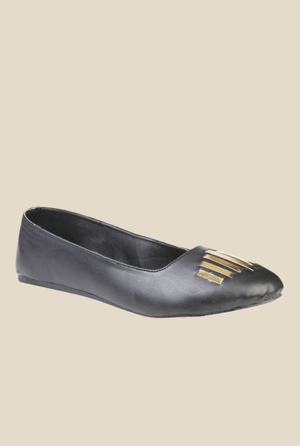 Yepme Black Flat Ballets