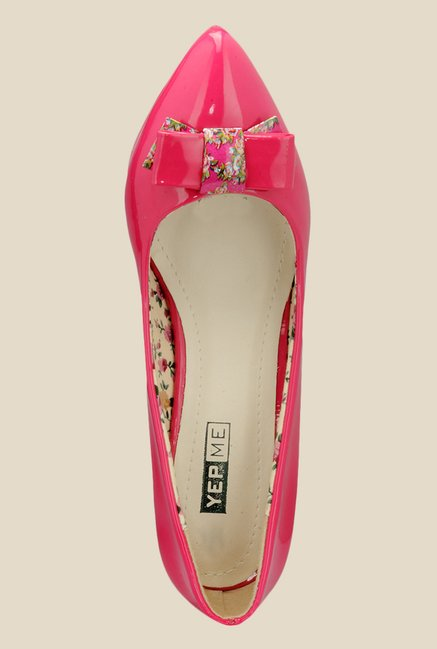 Yepme Pink Stiletto Heeled Pumps