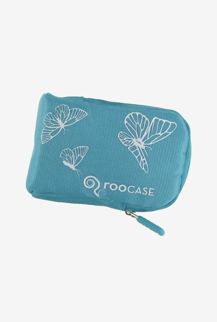 rooCASE Padded Camera Case for Nikon Coolpix L24 (Blue)