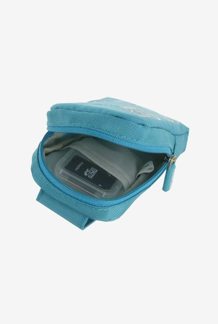 rooCASE Padded Camera Case for Nikon Coolpix S6100 (Blue)
