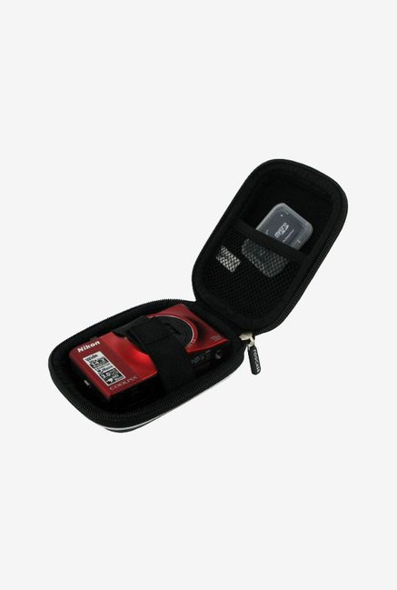 rooCASE Carrying Case for Canon ELPH 300 HS (Black)