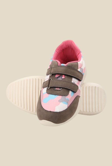 Yepme Pink & Brown Casual Shoes