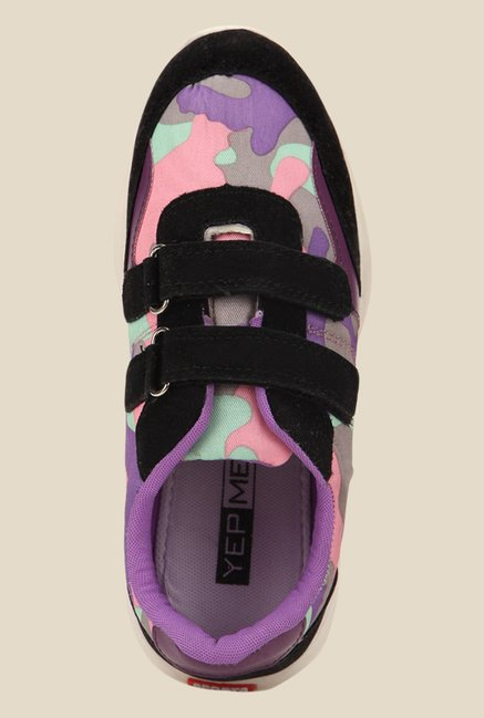 Yepme Purple & Black Casual Shoes