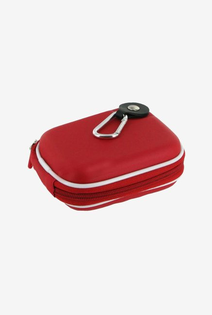 rooCASE Carrying Case for Pentax Optio S1 (Red)