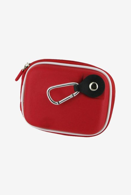 rooCASE Carrying Case for Pentax Optio WG-1 (Red)