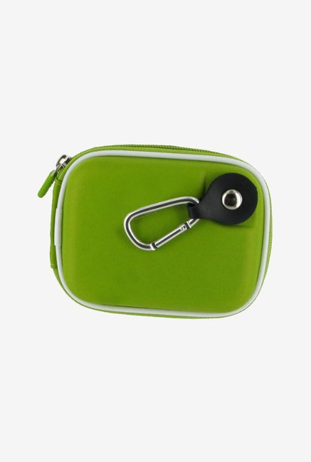 rooCASE Carrying Case for Sony Cybershot DSC-W530 (Green)