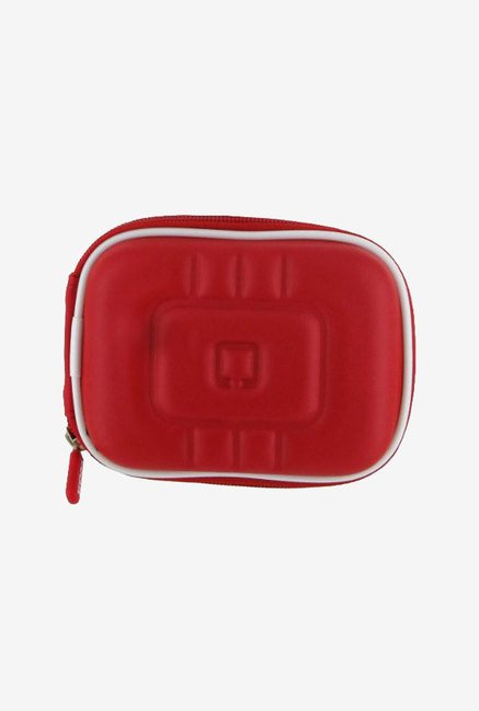 rooCASE Carrying Case For Canon PowerShot A3100IS (Red)
