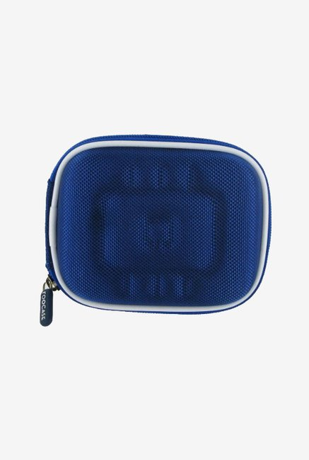rooCASE Carrying Case For Nikon Coolpix S80 (Blue)