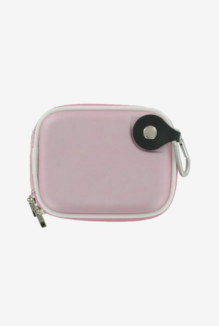rooCASE Carrying Case For Panasonic Lumix DMC-FH3 (Pink)