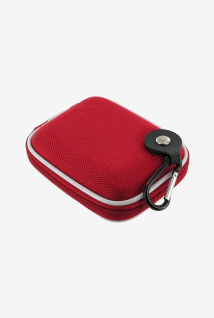 rooCASE Nylon Camera Case for Kodak EasyShare C142 (Red)