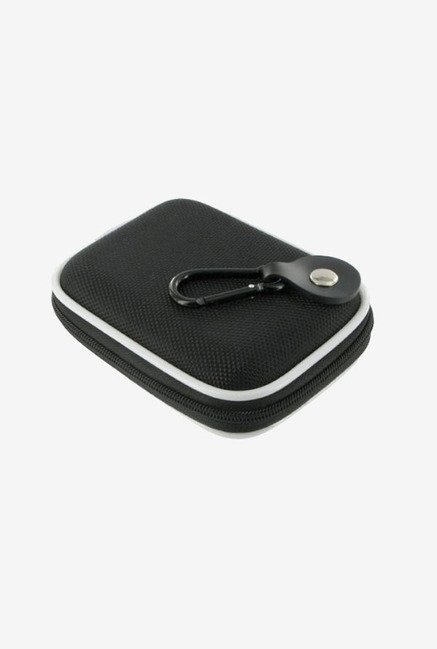 rooCASE Nylon Camera Case for Nikon Coolpix S3000 (Black)