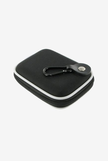rooCASE Nylon Camera Case for Nikon Coolpix S60 (Black)