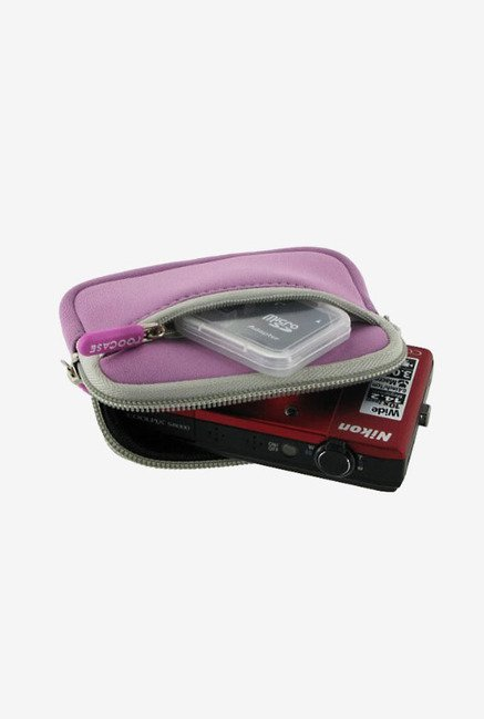 rooCASE Camera Sleeve for Panasonic Lumix DMC-ZS8 (Pink)