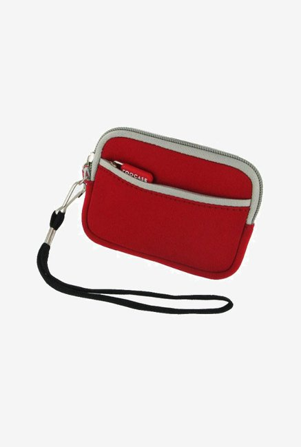 rooCASE Carrying Case for Nikon Coolpix S80 (Red)