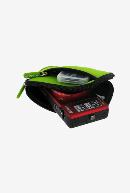 rooCASE Carrying Case for Nikon Coolpix S8100 (Green)