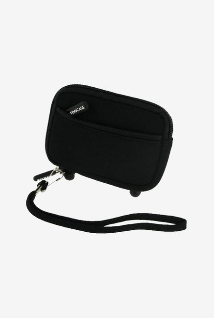 rooCASE Carrying Case for Nikon Coolpix S8100 (Black)