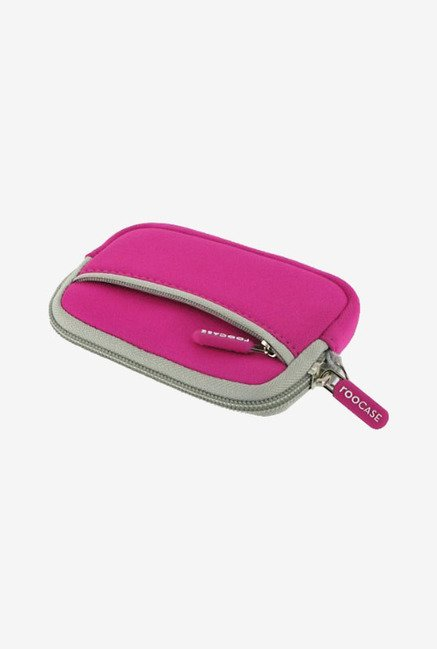 rooCASE Carrying Case for Olympus Stylus TG-310 (Magenta)